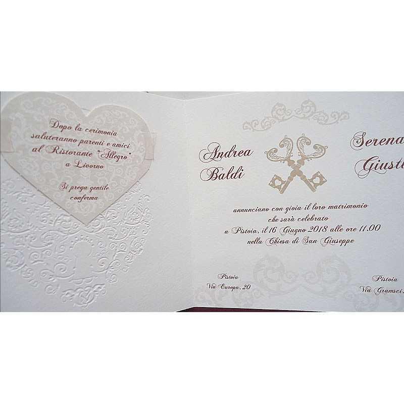 partecipazioni di nozze 0555