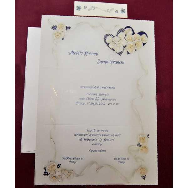 partecipazioni di nozze 0558