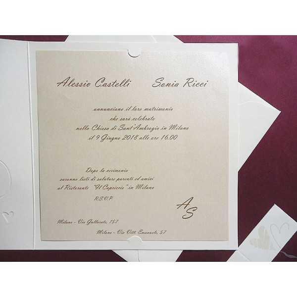 partecipazioni di nozze 0563