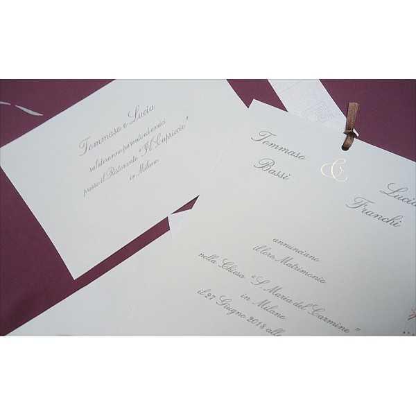 partecipazione di nozze CP031004