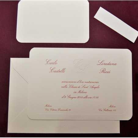 partecipazione di nozze CP031019