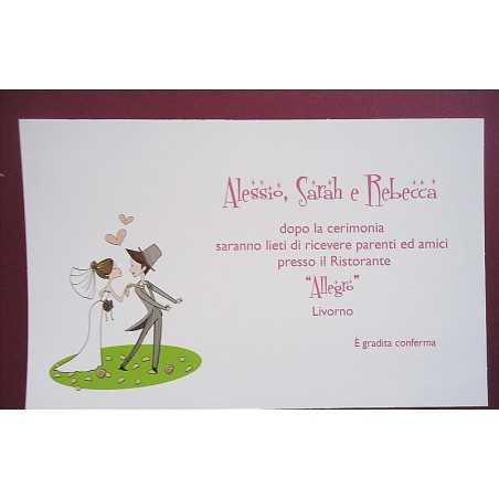 partecipazioni di nozze 0539