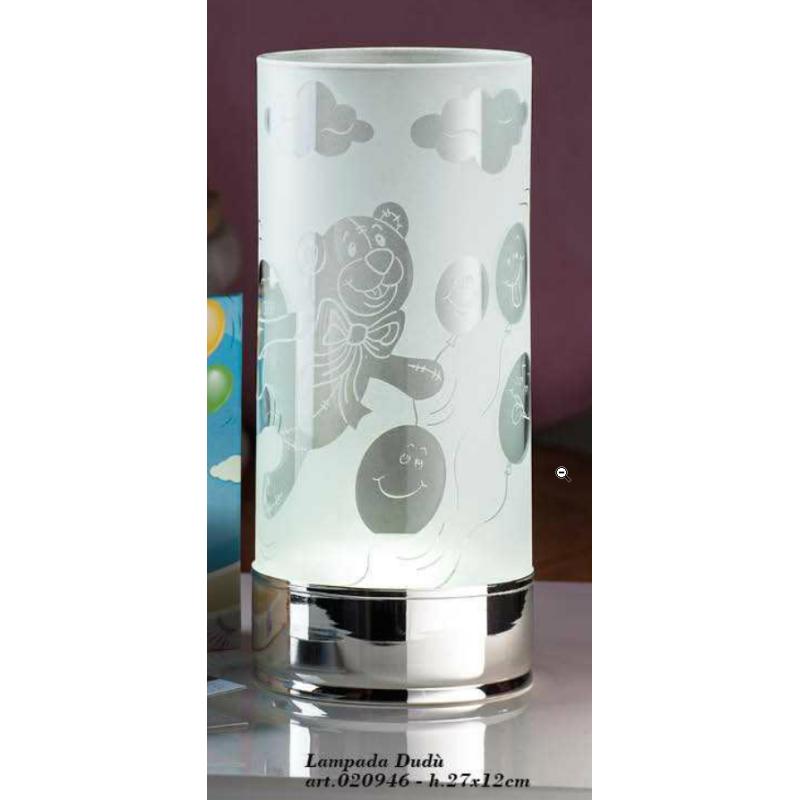 lampada Flik e Dudù h.27x12cm. SOLIDO