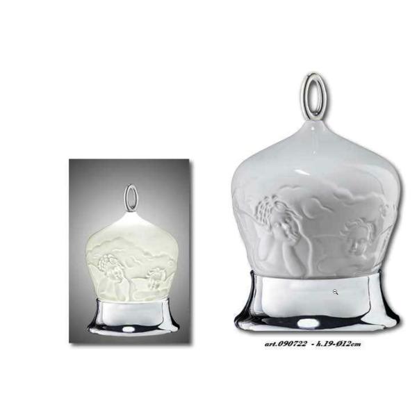 campana lampada porcellana Girotondo bambini -angioletti SOLIDO