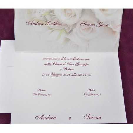 Partecipazioni di nozze 0522