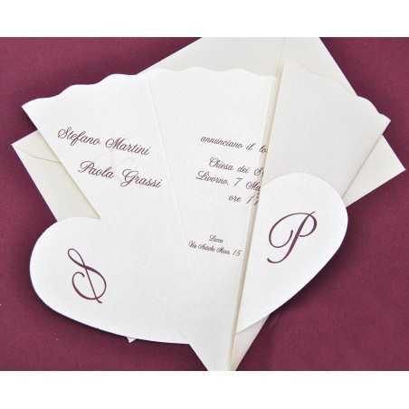 Partecipazioni di nozze E45570