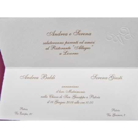 Partecipazioni di nozze 0014