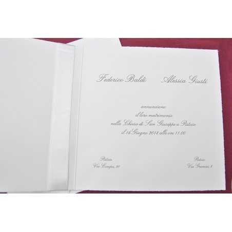 Partecipazioni di nozze 0011