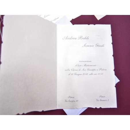 partecipazione di nozze E 45569