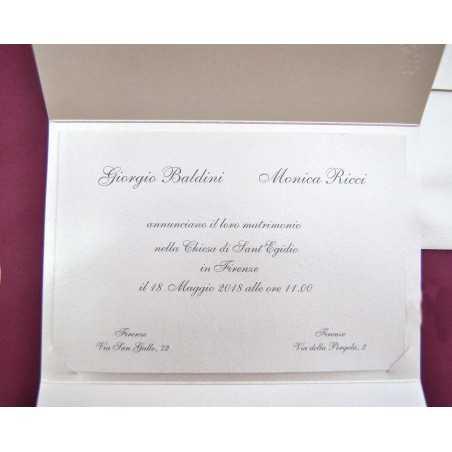 partecipazione di nozze CP031002