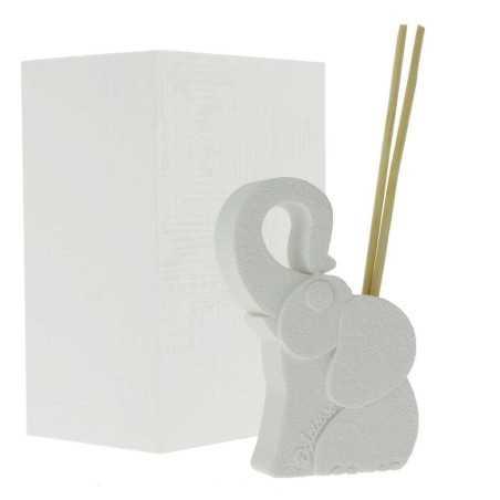 Bomboniera profumatore elefante bianco