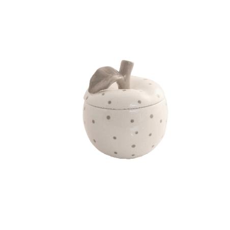 Bomboniera scatolina mela pois
