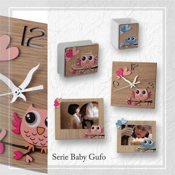 Bomboniera Negò Serie Baby Gufo