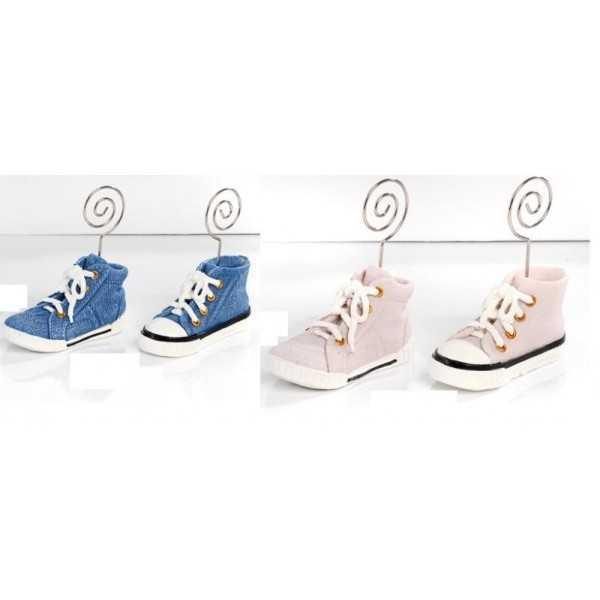 Bomboniera Memo clip scarpa da ginnastica