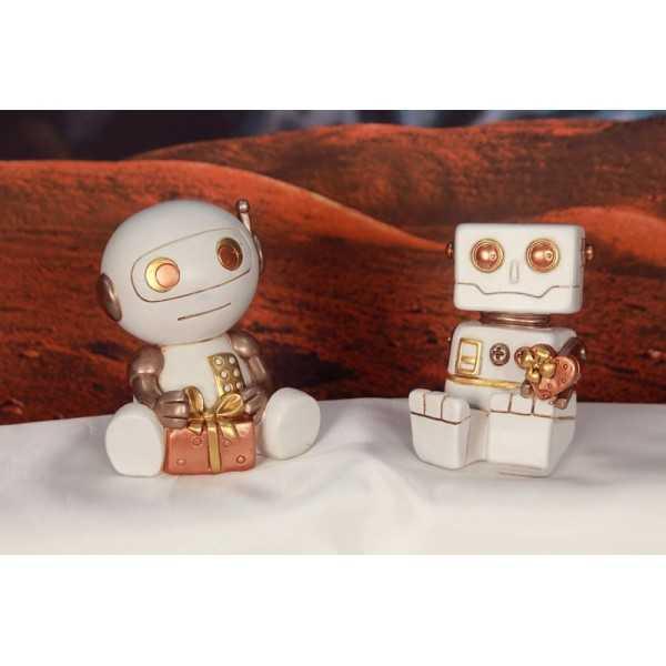 Bomboniera Robot in resina