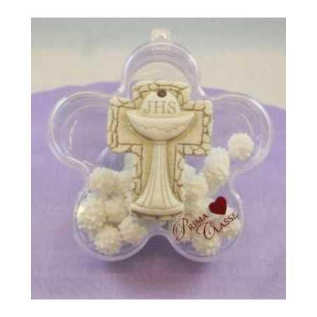 Bomboniera sacra Fiore con Icona
