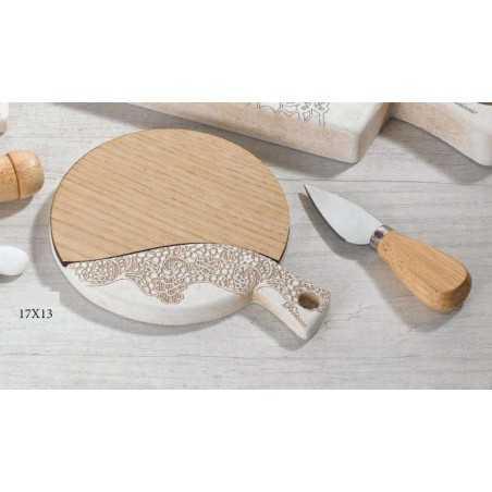 Bomboniera Matrimonio Tagliere in legno