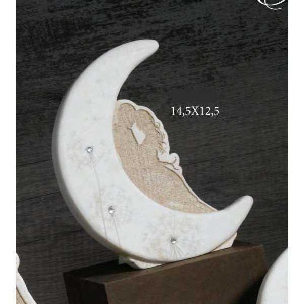 Bomboniera matrimonio Luna in resina