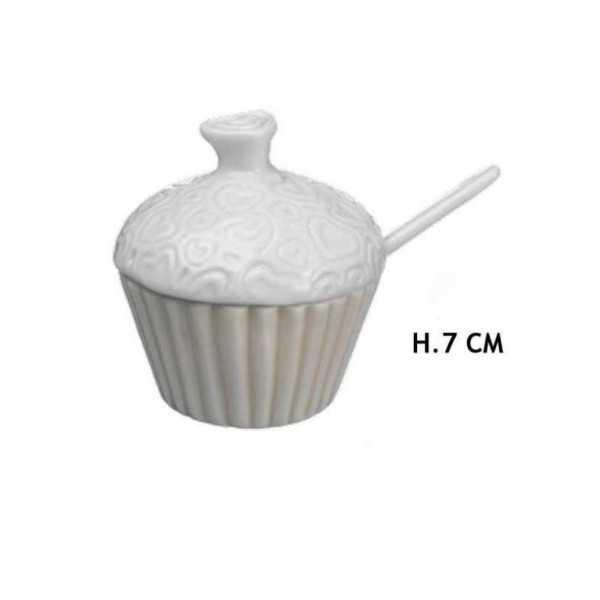 Bomboniera Matrimonio Zuccheriera Cupcake