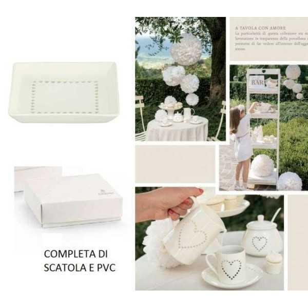 Bomboniera Matrimonio Piattino