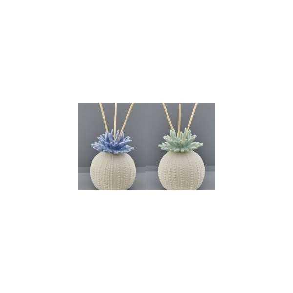 Bomboniera matrimonio Profumatore Ceramica Corallo