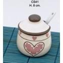 Zuccheriera ceramica