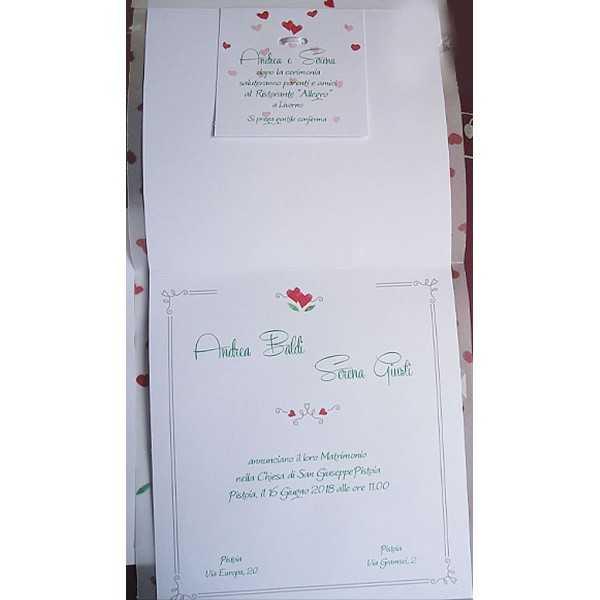 partecipazioni di nozze 0550