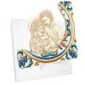 Bomboniera sacra maiolica con Icona