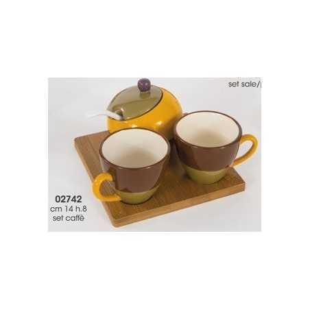 Set caffe' 3 pezzi